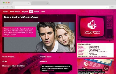 the old 4music