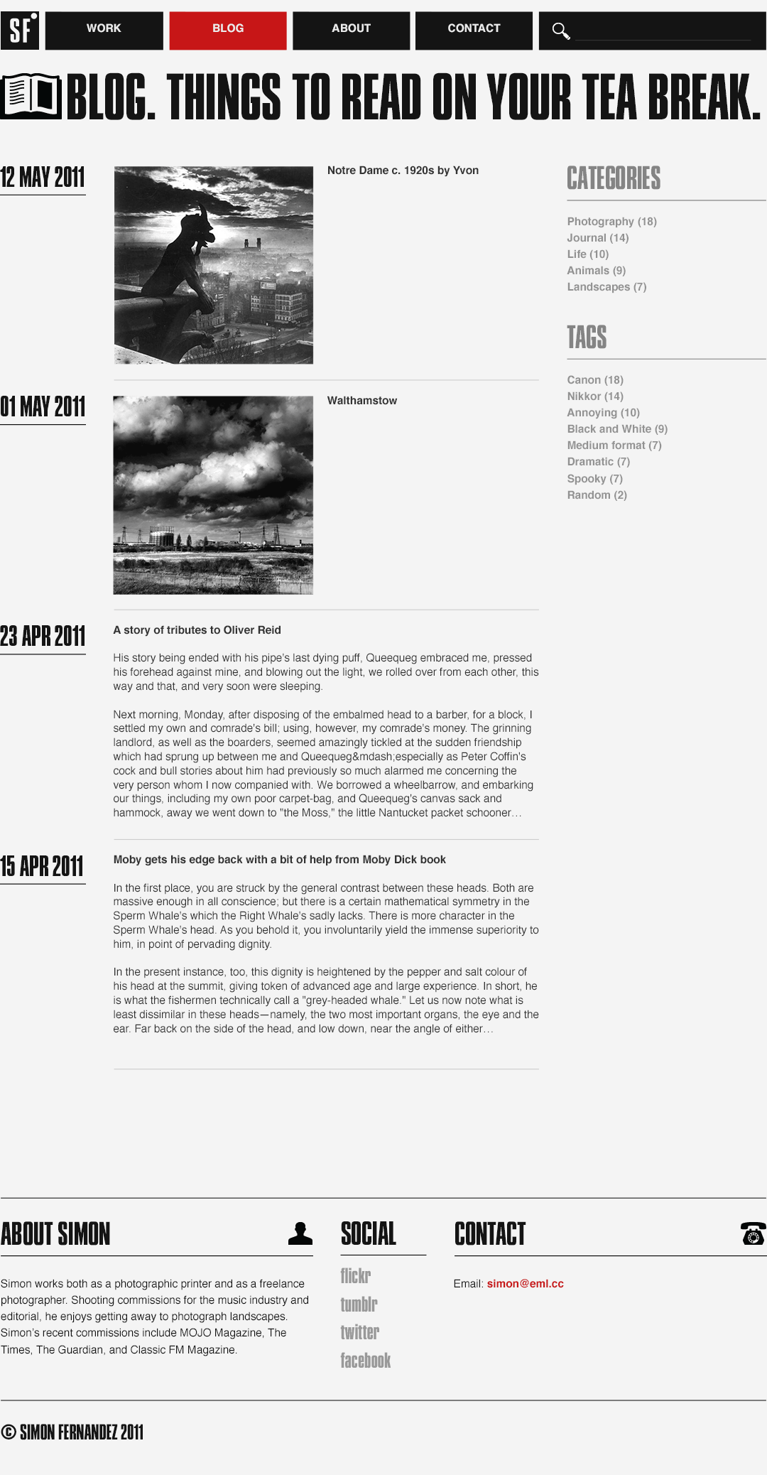A.2 Blog page